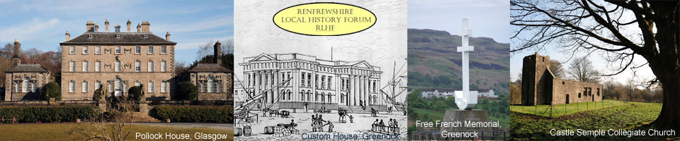 Renfrewshire Local History Forum Logo