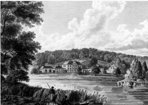 McDowall's House beside Castle Semple Loch