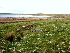 Possible Remains of Structure on Lade
