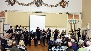 Renfrewshire Youth Music Initiative, led by Morag Currie