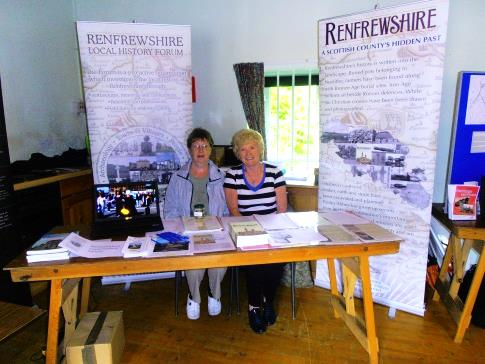 <strong>Janet and Maimie manning the stand</strong>