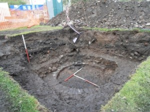 Trench 2 circular feature