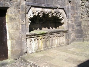 Lord Semple's tomb in the Collegiate Chapel, Lochwinnoch