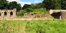 Ruins of McDowell's mansion house at Castle Semple